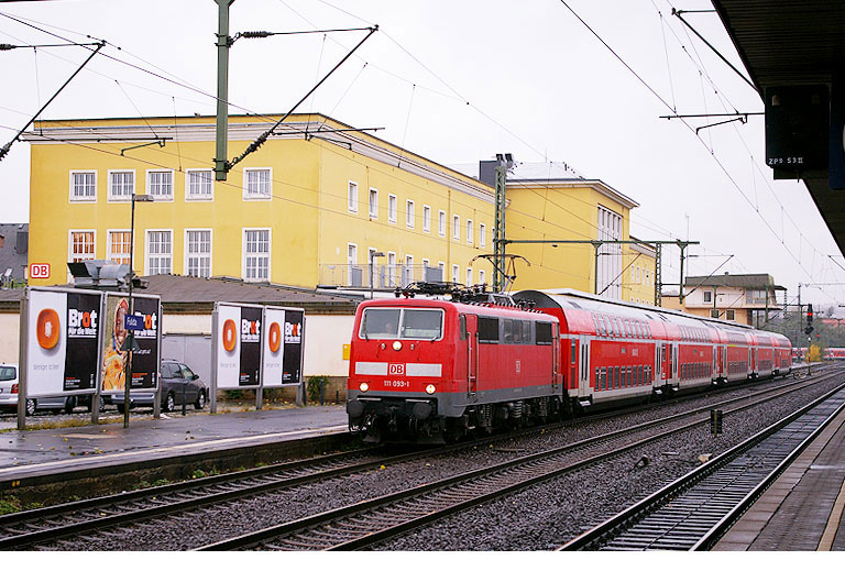 DB Baureihe 111 in Fulda