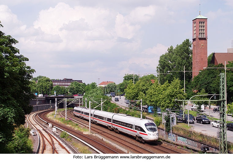 DB Baureihe 605 in Hamburg am Berliner Tor
