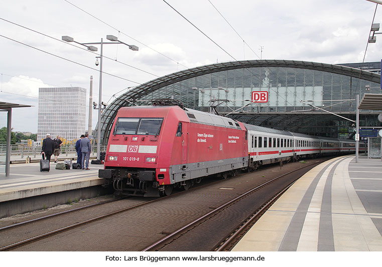 DB Baureihe 101 in Berlin Hbf
