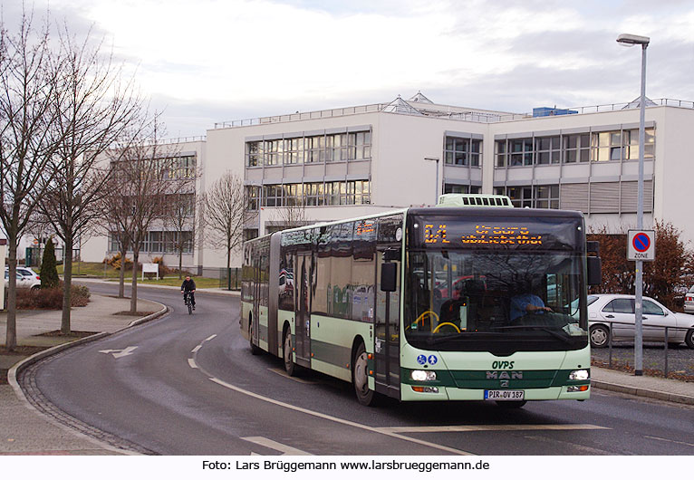OVPS Bus in Pirna
